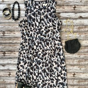 Ann Taylor Loft Printed Dress! Great Condition! 8